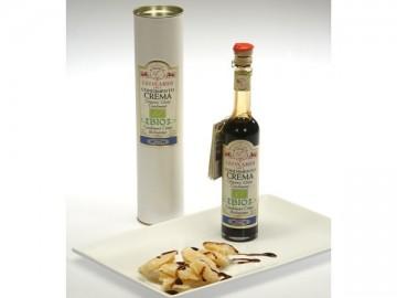 Abbinamento Parmigiano Reggiano Dop e crema di Aceto Balsamico di Modena IGP