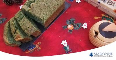 Plum Cake di Spinaci e Parmigiano Reggiano DOP