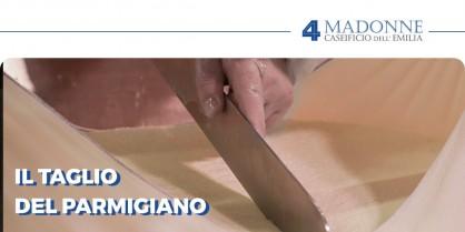 Come si taglia il Parmigiano Reggiano? Ecco tutto quello che c'è da sapere