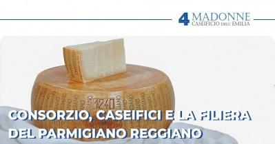 Consorzio, Caseifici e la Filiera del Parmigiano Reggiano