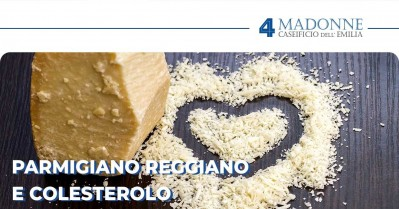 Parmigiano Reggiano e colesterolo: cosa occorre sapere